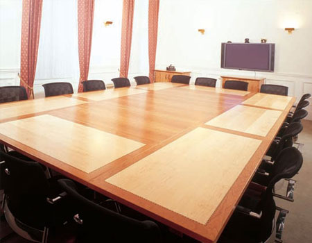 Mayfair Space Modular Tables Meeting Room