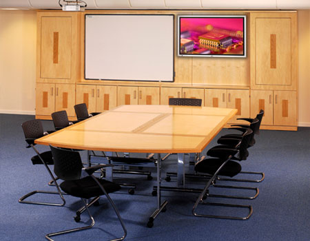 Mayfair Space Modular Tables Meeting Room