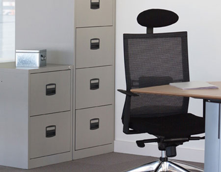filing cabinets but with 30 greater capacity the drawers each supported by heavy duty slides enable 100 extension and accommodate one row of